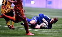 Fotball , 20 . november 2015 , NM finale G16<br /> Brann - Lillestrøm 1-4<br /> Brann keeper Markus Olsen Pettersen