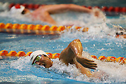 Jun Dai, New Zealand Open Swimming Champs, Day 1, West Wave Aquatic Center, Waitakere, Auckland. 14 April 2015. Copyright Photo: William Booth / www.photosport.co.nz