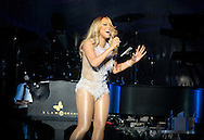 Mariah Carey Performing on Her 'Sweet Sweet Fantasy Tour' at SEE Hydro in Glasgow on March 15, 2016