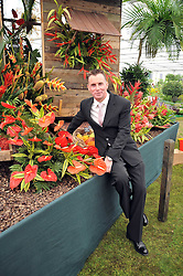GARY RHODES at the RHS Chelsea Flower Show 2009 held inthe gardens of the Royal Hospital Chelsea on 18th May 2009.