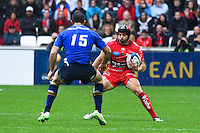 Leigh Halfpenny / Rob Kearney - 19.04.2015 - Toulon / Leinster - 1/2Finale European Champions Cup -Marseille<br /> Photo : Andre Delon / Icon Sport