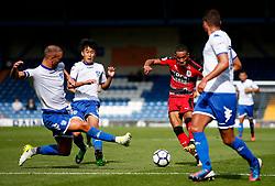 Tom Ince of Huddersfield Town fires a shot at goal  - Mandatory by-line: Matt McNulty/JMP - 16/07/2017 - FOOTBALL - Gigg Lane - Bury, England - Bury v Huddersfield Town - Pre-season friendly