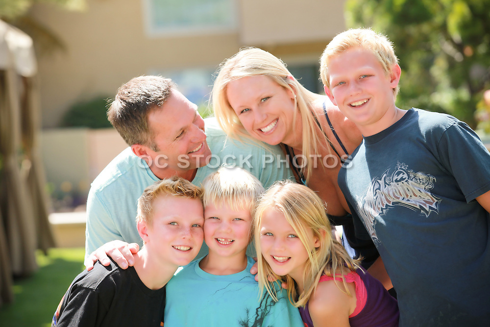 Mom, Dad and the Children Together
