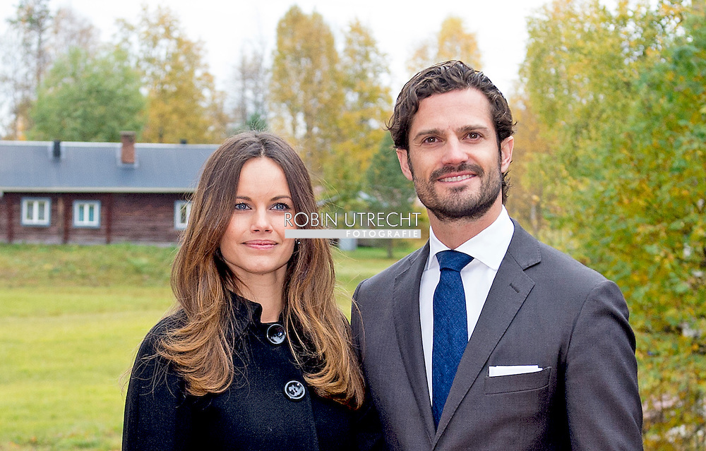 6-10-2015 Visit to the stone porphyry in &Auml;lvdalenPrince Carl Philip and H.K.H. the Princess Sofia will visit two days the county of Dalarna 5-6 October 2015<br /> COPYRIGHT ROBIN URECHT