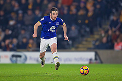 KINGSTON-UPON-HULL, ENGLAND - Friday, December 30, 2016: Everton's Leighton Baines in action against Hull City during the FA Premier League match at the KCOM Stadium. (Pic by David Rawcliffe/Propaganda)
