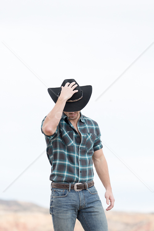 cowboy on a ranch