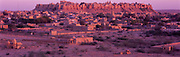 Jaisalmer Fort Sunset, Rajasthan, India, 1996