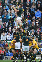 CAPE TOWN, SOUTH AFRICA - Saturday 28 September 2013, Eben Etsebeth of South Africa during the Castle Lager Rugby Championship test match between South Africa (Sprinkboks) and Australia (Wallabies) at DHL Newlands in Cape Town.<br /> Photo by Roger Sedres/ ImageSA