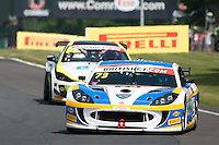 Nathan Freke (GBR) / Anna Walewska (GBR)  #73 Century Motorsport  Ginetta G55 GT4  Ford Cyclone 3.7L V6  British GT Championship at Oulton Park, Little Budworth, Cheshire, United Kingdom. May 30 2016. World Copyright Peter Taylor/PSP. Copy of publication required for printed pictures.  Every used picture is fee-liable. http://archive.petertaylor-photographic.co.uk