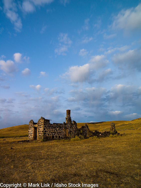 The Wickahoney stage stop still remains standing deep in the Owyhee Desert of southwest Idaho.