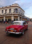 Street in Artemisa, Cuba.