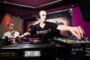 DJ at club night, Wax On @ Stylus/ Leeds University Union. 26/05/2007