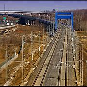 Rondissone (TO) tratto ferrovia Alta Velocità Torino Milano