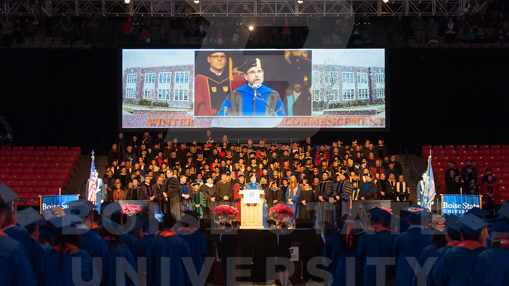 Winter Commencement 2017, Photo Patrick Sweeney