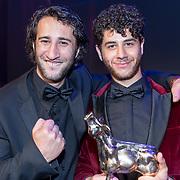 NLD/Utrecht/20170929 - Uitreiking Gouden Kalveren 2017, George Tobal en Majd Mardo
