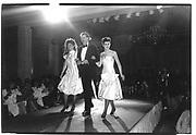 Leil'as evening for charity. NSPCC. Grosvenor House. 8/6/87. Organised by Venessa Llewellen, Leila Boutiquie. Lucy Durham Mathews. Rupert Deen. Lady Somerset Feilding© Copyright Photograph by Dafydd Jones 66 Stockwell Park Rd. London SW9 0DA Tel 020 7733 0108 www.dafjones.com