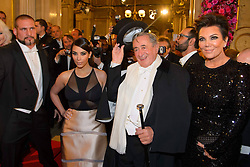 61147042<br /> (L-R) Kim Kardashian with Richard LUGNER  and her mother Kris Jenner attend the traditional Vienna Opera Ball (Wiener Opernball), Vienna State Opera, Vienna, Austria, Thursday, 27th February 2014. Picture by  imago / i-Images<br /> UK ONLY