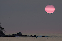Sayulita, Mexico- sunset into the ocean