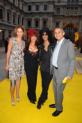 Left to right, TRINNY WOODALL, PERLA FERRAR, SLASH and JONNY ELICHAOFF at the Royal Academy of Arts Summer Exhibition Party at the Royal Academy, Piccadilly, London on 6th June 2007.<br />