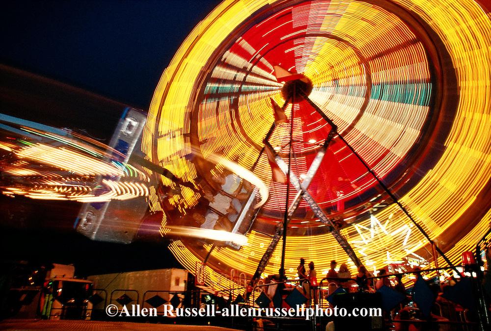 Carnival Rides, Ferris Wheel, Colorado State Fair, Pueblo, Colorado