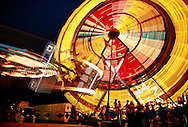 Carnival Rides, Ferris Wheel, Colorado State Fair, Pueblo, Colorado