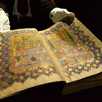 "London ""7th March 2009 Sotheby ' s Art of the Islamic World Sale on April 1st  The Sale include  a Rare Illuminated Manuscript containing 25 precious  Miniatures and dating around 1750..Standard Licence feee's apply  to all image usage.Marco Secchi - Xianpix tel +44 (0) 845 050 6211 .e-mail ms@msecchi.com .http://www.marcosecchi.com"