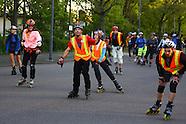 Start der Skatenight in Ludwigshafen