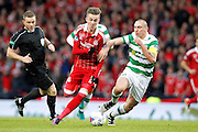 Aberdeen's  James Maddison (23) and Celtic's Scott Brown (8) during the Betfred Scottish Cup  Final match between Aberdeen and Celtic at Hampden Park, Glasgow, United Kingdom on 27 November 2016. Photo by Craig Galloway.