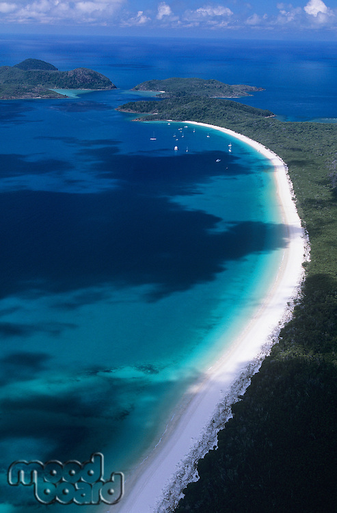 Australia Queensland White haven beach