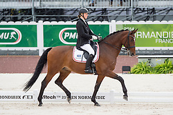 Susanne Jensby Sunesen, (DEN), Thy's Que Faire, - Team Competition Grade III Para Dressage - Alltech FEI World Equestrian Games™ 2014 - Normandy, France.<br /> © Hippo Foto Team - Jon Stroud <br /> 25/06/14
