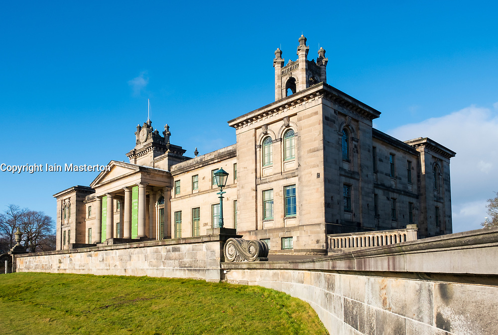 Exterior view of Scottish National Gallery of Modern Art - Two, in Edinburgh, Scotland, UK