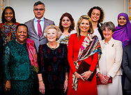 THE HAGUE - Queen Maxima will hold the opening speech on Thursday 12 April at the Noordeinde Palace in the presence of Her Royal Highness Princess Beatrix of the Netherlands on the occasion of the 15th anniversary of the Prince Claus Chair. ROBIN UTRECHT