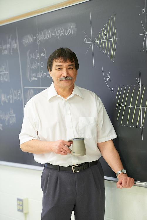 """-UWL UW-L UW-La Crosse University of Wisconsin-La Crosse; Chalk; Cowley; day; Inside; May; Portrait; Professor; """"Whiteboard;Chalkboard"""" Dean Bruce Riley Retirement"""