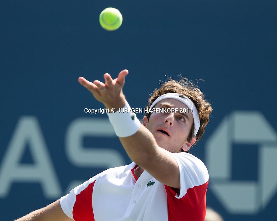 ELLIOT BENCHETRIT (FRA) BS Junior Singles<br /> <br /> Tennis - US Open 2016 - Grand Slam ITF / ATP / WTA -  USTA Billie Jean King National Tennis Center - New York - New York - USA  - 4 September 2016.