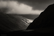 Towards Snowdon and Mynydd Mawr from Moel Tryfan in Snowdonia.
