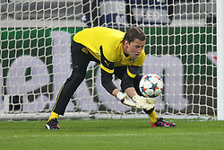 24.02.2015, Veltins Arena, Turin, ITA, UEFA CL, Juventus Turin vs Borussia Dortmund, Achtelfinale, Hinspiel, im Bild Roman Weidenfeller #1 (Borussia Dortmund) beim warm up // during the UEFA Champions League Round of 16, 1st Leg match between between Juventus Turin and Borussia Dortmund at the Veltins Arena in Turin, Italy on 2015/02/24. EXPA Pictures © 2015, PhotoCredit: EXPA/ Eibner-Pressefoto/ Kolbert<br /> <br /> *****ATTENTION - OUT of GER*****
