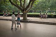 Ballroom dancing in Fuxing Park, Shanghai, China.