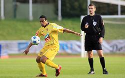 Marcos Tavares of Maribor at 1st semifinal match of Pokal Hervis between NK Interblock and NK Maribor at  ZAK Stadium, on April 15, 2009, in Ljubljana, Slovenia.  (Photo by Vid Ponikvar / Sportida)