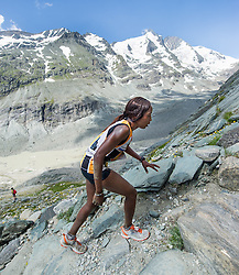 21.07.2013, Kaiser Franz Josefs Hoehe, Heiligenblut, AUT, Grossglockner Berglauf 2013, im Bild Lucy-Wambui Murigi (KEN) // Lucy Wambui Murigi from Kenya during the Grossglockner Mountain Race 2013 at Kaiser Franz Josefs Hoehe, Austria on 2013/07/21, EXPA Pictures © 2013, PhotoCredit EXPA Michael Gruber