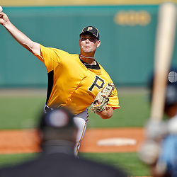 February 25, 2011; Bradenton, FL, USA; Pittsburgh Pirates starting pitcher Kyle McPherson (67) during a spring training exhibition game against the State College of Florida Manatees at McKechnie Field. The Pirates defeated the Manatees 21-1. Mandatory Credit: Derick E. Hingle-US PRESSWIRE