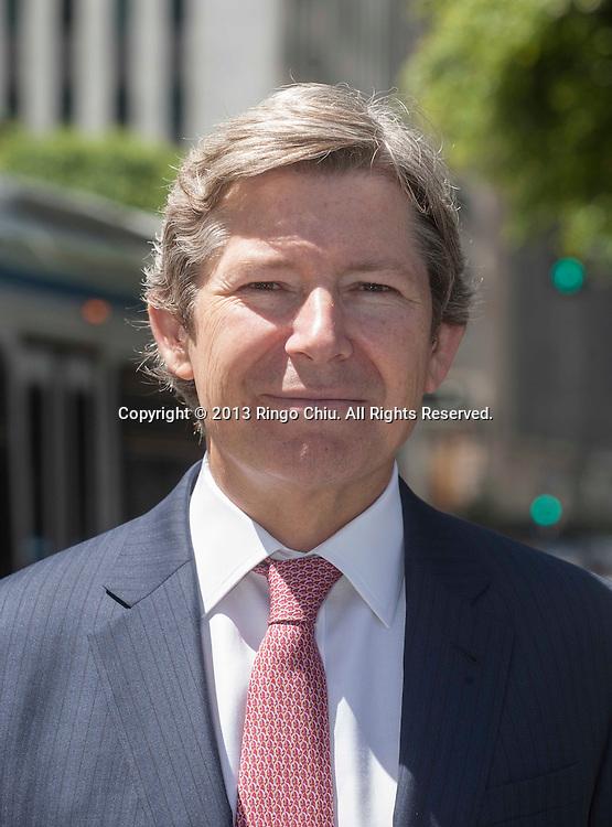 Michael Zietsman, who deals in capital markets for Jones Lang La Salle. (Photo by Ringo Chiu/PHOTOFORMULA.com)
