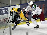 Ishockey, 6. januar 2005, UPC-ligaen , Frisk Asker - Stavanger,  Pål Velo, Frisk Asker og Rene Sethereng, Stavanger