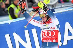 26.10.2019, Hannes Trinkl Weltcupstrecke, Hinterstoder, AUT, FIS Weltcup Ski Alpin, Alpine Kombination, Herren, Slalom, im Bild Alexis Pinturault (FRA) SIEGER // Alexis Pinturault of France WINNER reacts after his Slalom run of men's Alpine combined of FIS ski alpine world cup at the Hannes Trinkl Weltcupstrecke in Hinterstoder, Austria on 2019/10/26. EXPA Pictures © 2020, PhotoCredit: EXPA/ Erich Spiess
