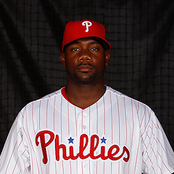 February 22, 2011; Clearwater, FL, USA; Philadelphia Phillies first baseman Ryan Howard (6) poses during photo day at Bright House Networks Field. Mandatory Credit: Derick E. Hingle