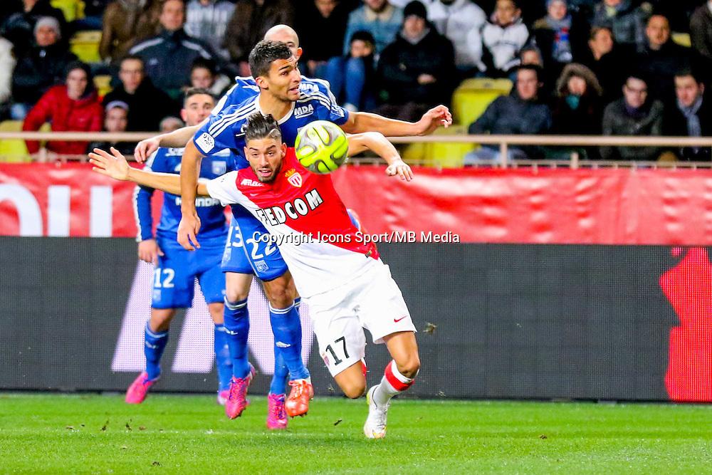 Yannick FERREIRA CARRASCO / Lindsay  ROSE - 01.02.2015 - Monaco / Lyon - 23eme journee de Ligue 1 -<br /> Photo : Serge Haouzi / Icon Sport