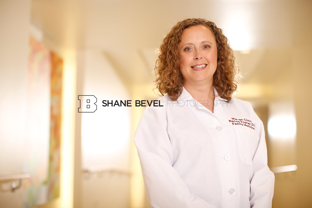 5/28/15 4:12:50 PM -- Dr. Renee Frenier of Saint Francis Health System poses for a portrait for the 2015 Advertising Campaign. <br /> <br /> Photo by Shane Bevel