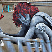 Son of Protagoras Mural by MTO in Belfast, Northern Ireland<br />
