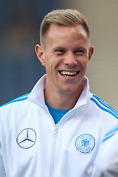07.09.2015, Hampton Park, Glasgow, SCO, UEFA Euro Qualifikation, Schottland vs Deutschland, Gruppe D, im Bild Torwart Marc-Andre ter Stegen (FC Barcelona) // during the UEFA EURO 2016 qualifier group D match between Scotland and Germany at the Hampton Park in Glasgow, Scotland on 2015/09/07. EXPA Pictures © 2015, PhotoCredit: EXPA/ Eibner-Pressefoto/ Schueler<br /> <br /> *****ATTENTION - OUT of GER*****