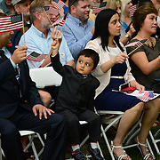 New citizens swearing in ceremony at Strawbery Banke, July 4, 2014