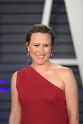February 24, 2019 - Beverly Hills, California, U.S - Anne Wojcicki on the red carpet of the 2019 Vanity Fair Oscar Party held at the Wallis Annenberg Center in Beverly Hills, California on Sunday February 24, 2019. JAVIER ROJAS/PI (Credit Image: © Prensa Internacional via ZUMA Wire)